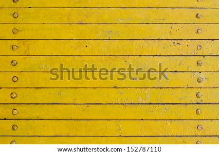 Yellow  rough horizon stripe line background. - stock photo