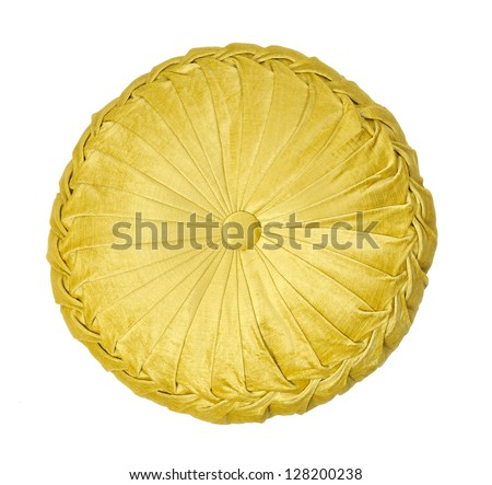 Round Yellow Decorative Pillow : Pillowcase Stock Photos, Images, & Pictures Shutterstock