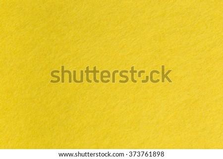 Yellow shaggy nap texture background - stock photo