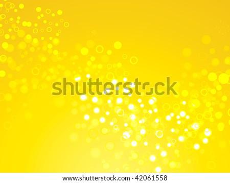 Yellow shimmering backdrop - stock photo