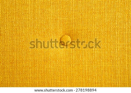 Yellow silk with bottom background - stock photo