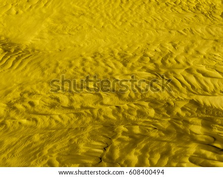 Moon Surface Color Desert Modern Contemporary Stock Photo