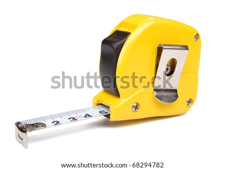 sewing tape measure png. yellow tape measure isolated on white background sewing png