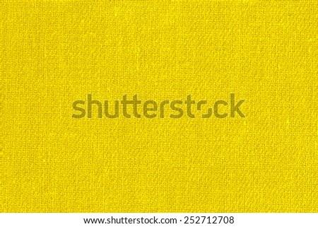 Yellow Textile Background./ Yellow Textile Background - stock photo