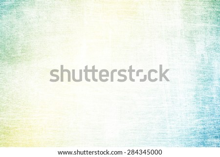 yellow to green gradient color on designed wood texture - stock photo