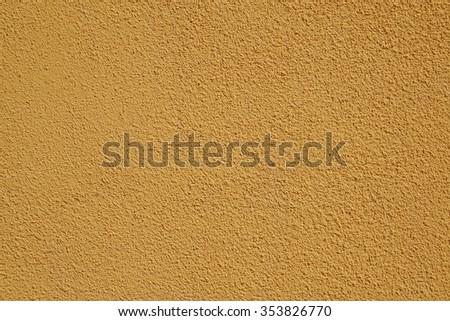 Yellow wall, grunge texture. Background.