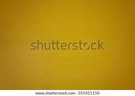 yellow wall texture for background usage - stock photo