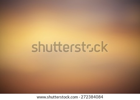 Yellow Warm Blur Abstract Background - stock photo
