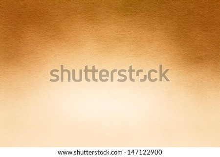 Yellow Watercolor Paper Texture For Artwork - stock photo
