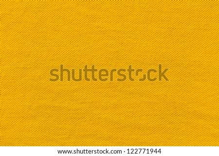 Yellow Wide View Shirt Texture - stock photo