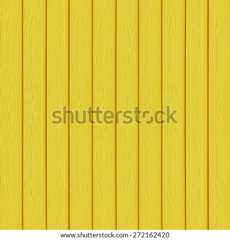 Yellow wood texture use for background - stock photo