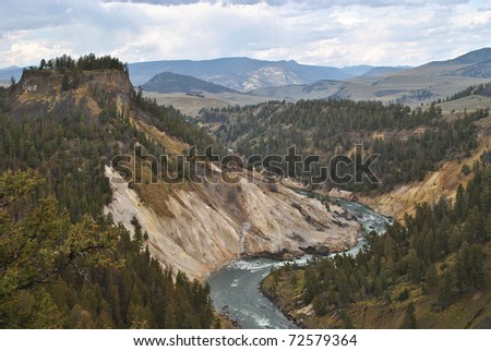 Yellowstone National Park in northwest Wyoming