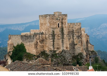 Yeste Castle, in the province of albacete, is an arabic castle what was in the border with the Kingdom of Granada