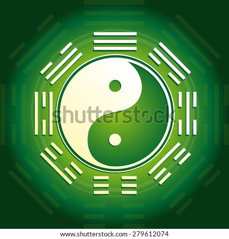 Yin and Yang - stock photo
