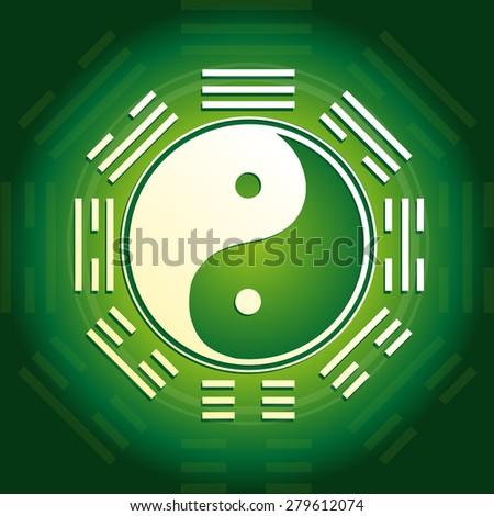 Yin and Yang - stock photo