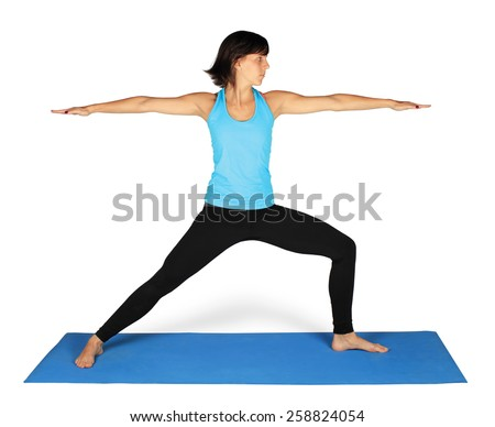 yoga - stock photo