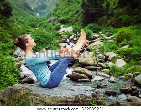 yoga asana stock images royaltyfree images  vectors