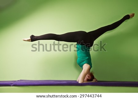 """split in headstand"" stock photos royaltyfree images"