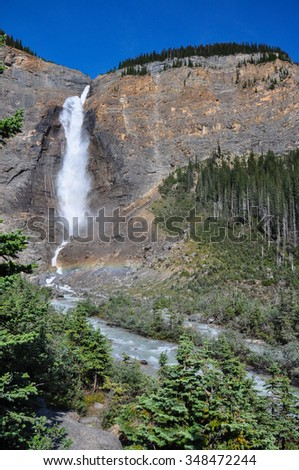 Yoho National park, British Columbia, Canada. - stock photo