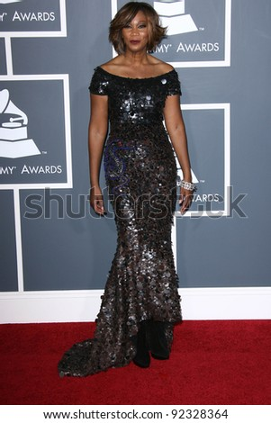 Yolanda Adams at the 53rd Annual Grammy Awards, Staples Center, Los Angeles, CA. 02-13-11