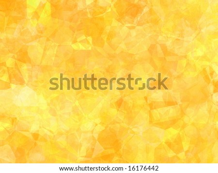 yolk yellow inspired multi facet wallpaper - stock photo