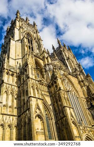 York Minster, York, England, United Kingdom, 2015 - stock photo