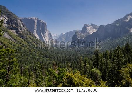 Yosemite National Park, California. - stock photo
