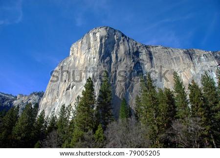 Yosemite National Park - El Capitan - stock photo