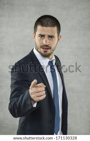 You are next - stock photo