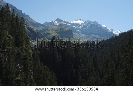 You can enjoy spectacular views in Kiental from Griesalp to Obere Bundalp. Kiental is a village and valley in the Bernese Alps (Switzerland) and belongs to the community of Reichenbach im Kandertal.