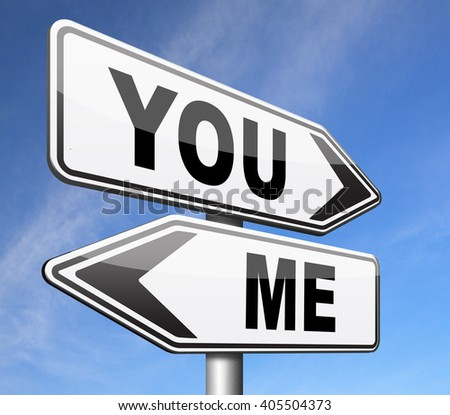 you versus me your or my opinion mariage crisis or differences leading to divorce and separation having different or separate interests and opinions