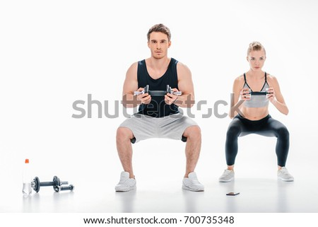 Squat Exercise Stock Images, Royalty-Free Images & Vectors ...