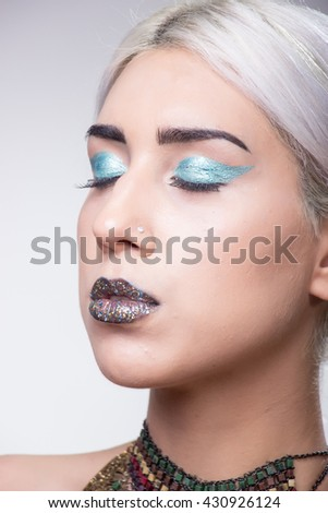 Blue Lips In Young Adults