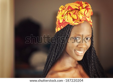Young African American Woman - stock photo