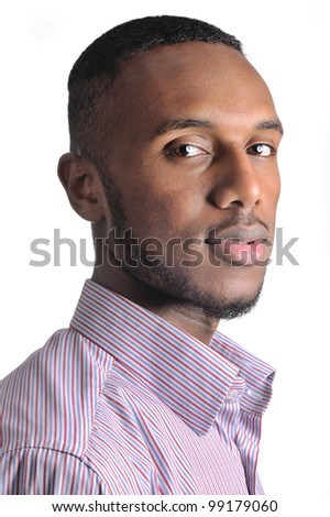Young african guy - stock photo