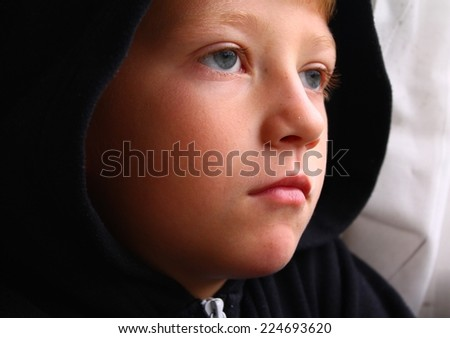 Young and Alone - stock photo