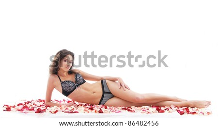 Young and healthy young woman getting health treatment