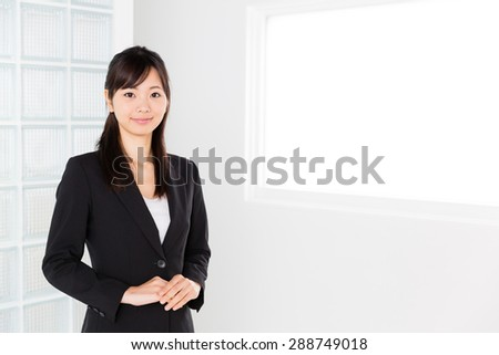 young asian businesswoman in the office