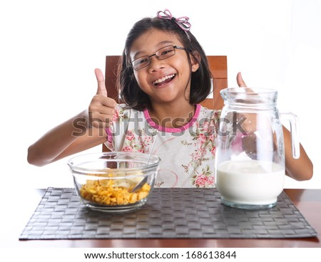 Asian milk and cereal flash