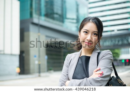 Young asian woman portrait - stock photo