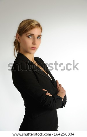 Young attractive woman - stock photo