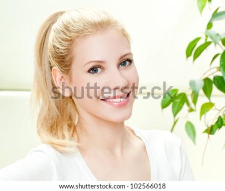 Young, beautiful girl - stock photo