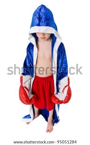 Boxer Fighter Robe Boxing trunks S...