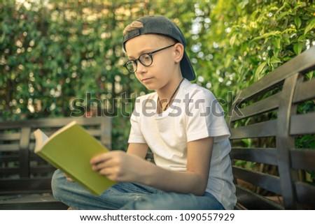 nice-teen-playing-alone-in-garden