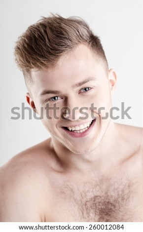 Young cheerful man