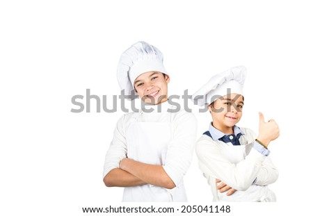 young Cooks - stock photo