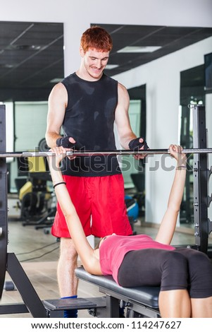 Young Couple at Gym