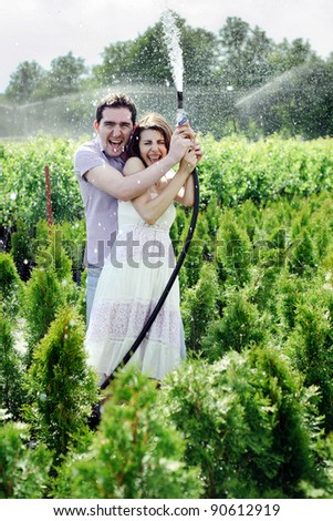 Prepossessing Young Couple In Garden Stock Images Royaltyfree Images  Vectors  With Fair Young Couple In The Garden With Nice Hand Held Garden Trimmer Also Cuprinol Garden Shades Beaumont Blue L In Addition Prezzo Near Covent Garden And Field Mice In Garden As Well As Woodthorpe Hall Garden Centre Additionally Tesco Direct Garden Furniture From Shutterstockcom With   Fair Young Couple In Garden Stock Images Royaltyfree Images  Vectors  With Nice Young Couple In The Garden And Prepossessing Hand Held Garden Trimmer Also Cuprinol Garden Shades Beaumont Blue L In Addition Prezzo Near Covent Garden From Shutterstockcom