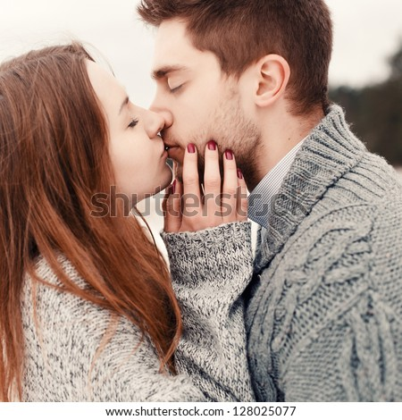 Couple Kissing Stock Images Royalty Free Images Amp Vectors