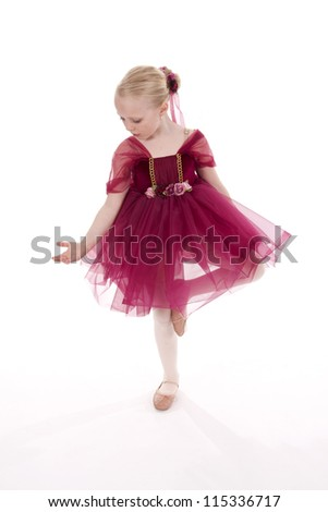 Young Dancer Posing